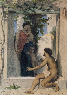 Bouguereau William La Charite Romaine