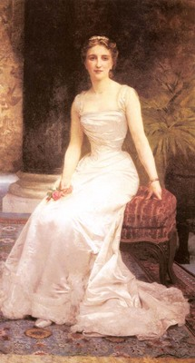 Bouguereau William Portrait Of Madame Olry Roederer