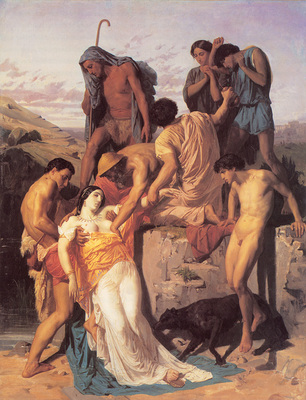 Bouguereau Zenobia Found by Shepherds