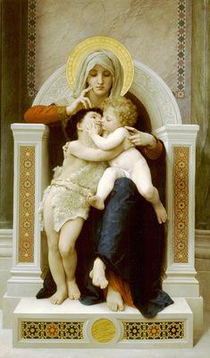 La Vierge LEnfant Jesus et Saint Jean Baptiste