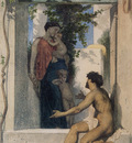 Bouguereau William La Charite Romaine
