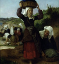bouguereau william washerwomen of fouesnant
