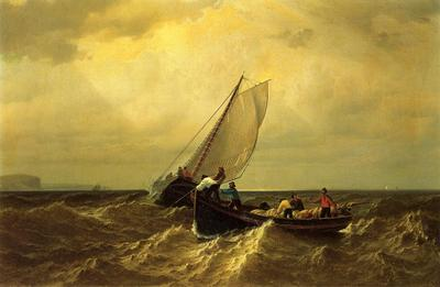 Bradford William Fishing Boats on the Bay of Fundy