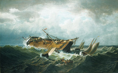 Bradford William Shipwreck Off Nantucket