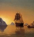 Bradford William An Arctic Scene