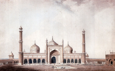 Daniell William The Jama Masjid
