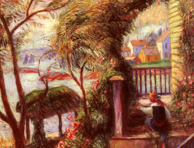 Glackens William J East Point Gloucester