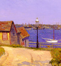 Glackens William J New Castle New Hampshire
