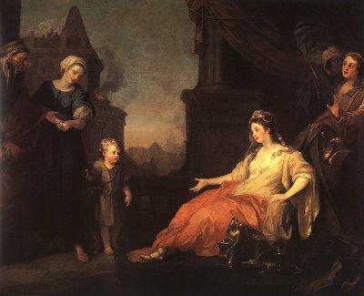 Moses Brought before Pharaohs Daughter CGF