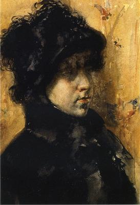 Chase William Merritt A Portrait Study