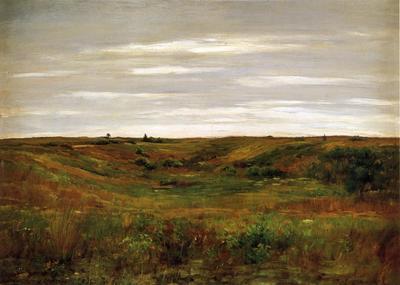 Chase William Merritt Landscape A Shinnecock Vale