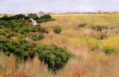 Chase William Merritt Landscape near Coney Island