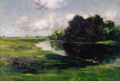 Chase William Merritt Long Island Landscape after a Shower of Rain