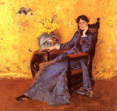 Chase William Merritt Portrait of Miss Dora Wheeler