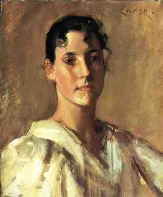 Chase William Merritt Portrait of a Woman2