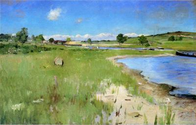 Chase William Merritt Shinnecock Hills from Canoe Place Long Island