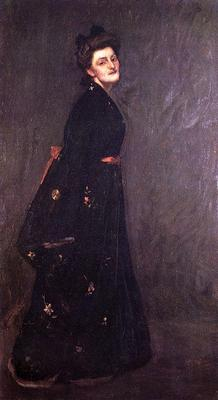 Chase William Merritt The Black Kimono