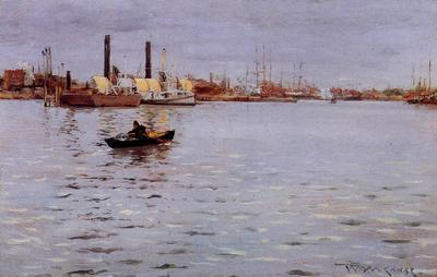 Chase William Merritt The East River