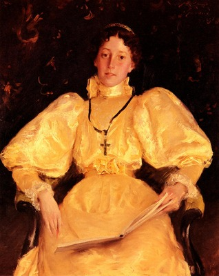 Chase William Merritt The Golden Lady