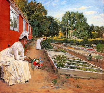Chase William Merritt The Nursery