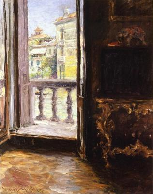 Chase William Merritt Venetian Balcony