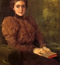 Chase William Merritt A Lady in Brown