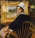 Chase William Merritt A Study aka The Artist s Wife