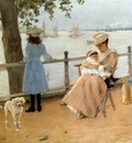 Chase William Merritt Afternoon by the Sea aka Gravesend Bay