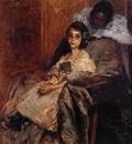 Chase William Merritt Dorothy and Her Sister