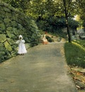 Chase William Merritt In the Park a By Path