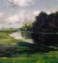 Chase William Merritt Long Island Landscape after a Shower of Rain