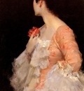 Chase William Merritt Portrait Of A Lady