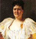 Chase William Merritt Portrait of a Woman