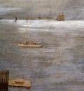 Chase William Merritt Sailboat at Anchor