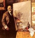 Chase William Merritt Self Portrait