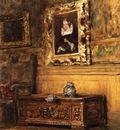 Chase William Merritt Studio Interior