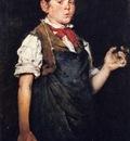 Chase William Merritt The Apprentice aka Boy Smoking
