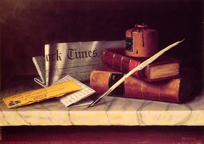Still Life with Letter to Thomas B Clarke