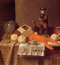 Still Life with Le Figaro