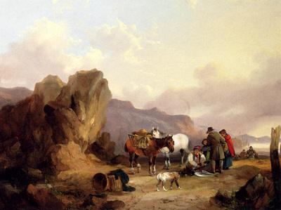 Shayer Sen William Fisherfolk Sorting The Catch
