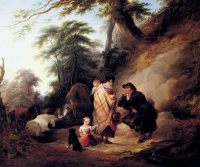 Shayer William Travelers Resting