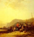 Shayer William On The Hampshire Coast