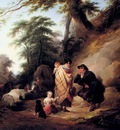 Shayer William Travelers Resting