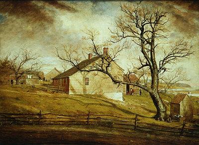 Mount William Sidney Long Island Farmhouses