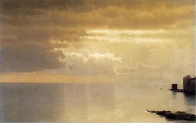 Haseltine William Stanley A Calm Sea Mentone