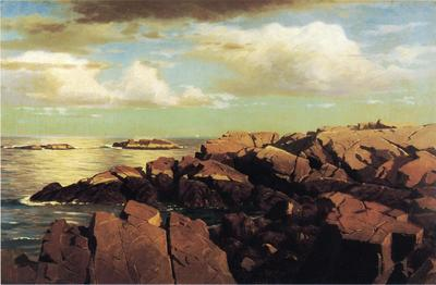 Haseltine William Stanley After a Shower Nahant Massachusetts
