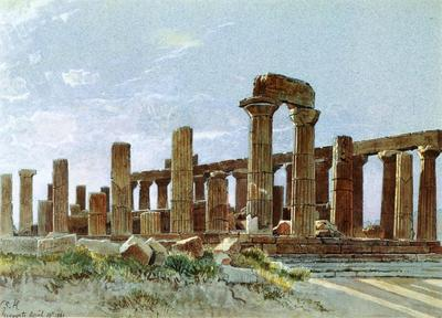 Haseltine William Stanley Agrigento aka Temple of Juno Lacinia