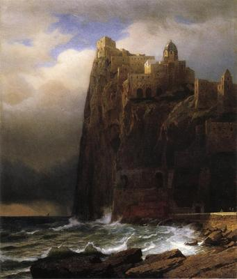 Haseltine William Stanley Coastal Cliffs aka Ischia
