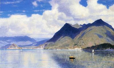Haseltine William Stanley Lago Maggiore2