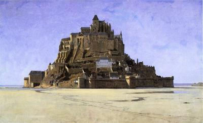 Haseltine William Stanley Mont Saint Michel